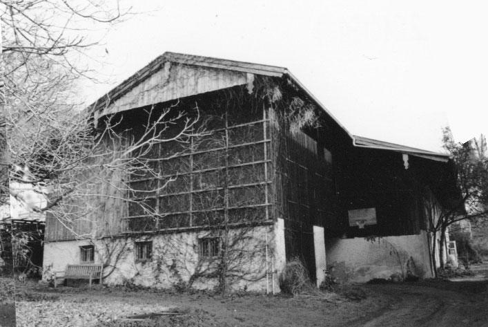 Gabriele Riesner, Architektin, Antwort/Chiemgau, Scheunenausbau, Bestand