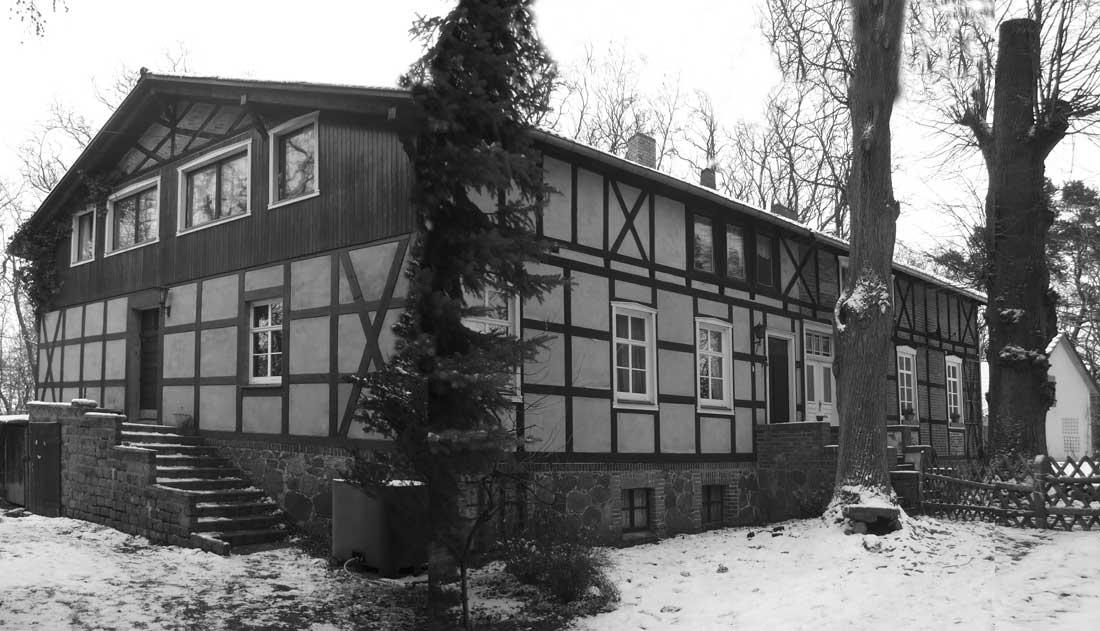 Gabriele Riesner, Architektin, Arnimswalde/Uckermark, Umbau eines Vorwerkes, Bestand