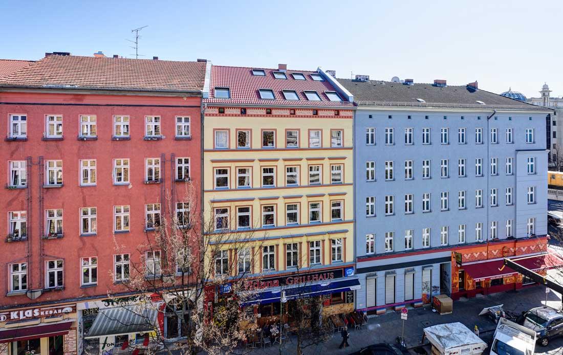 Gabriele Riesner, Architektin, Berlin-Kreuzberg, Dachgeschossausbau eines Hauses