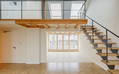 Dachgeschossausbau eines Mietshauses 1