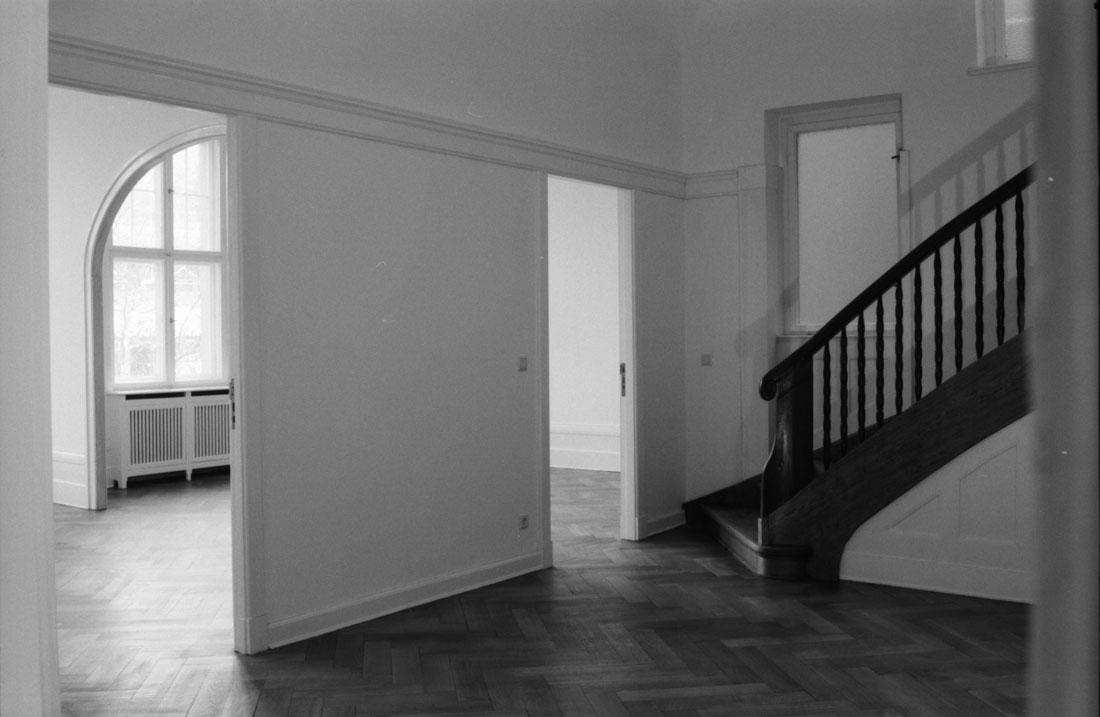 Gabriele Riesner, Architektin, Berlin-Wilmersdorf, Restaurierung/Modernisierung eines Mietshauses, Foyer