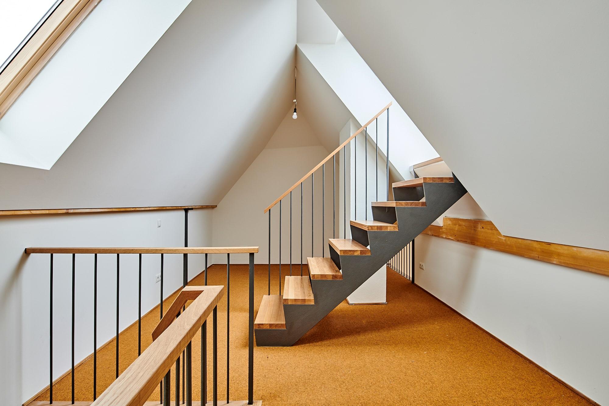 Gabriele Riesner, Architektin, Berlin, Dachgeschossausbau eines Mietshauses in Berlin-Steglitz, Galerie