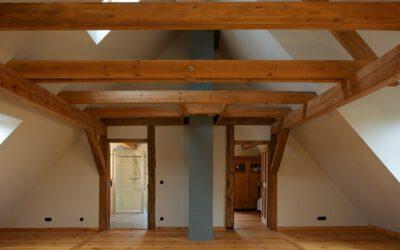 Dachausbau eines Doppelstubenhauses
